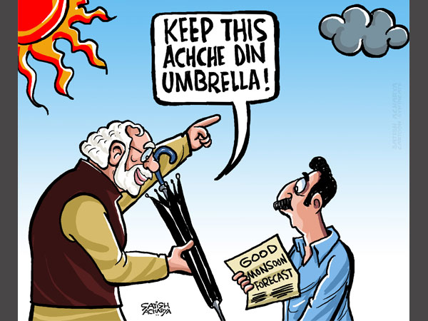 Cartoon of the Day: Achche din, an 'umbrella' term?