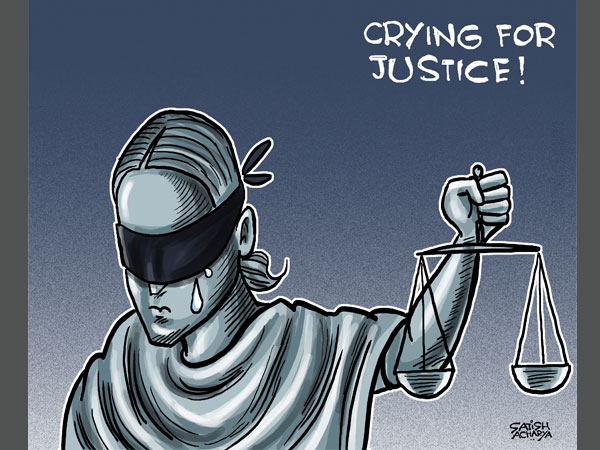 Cartoon of the Day: 'Crying for Justice'