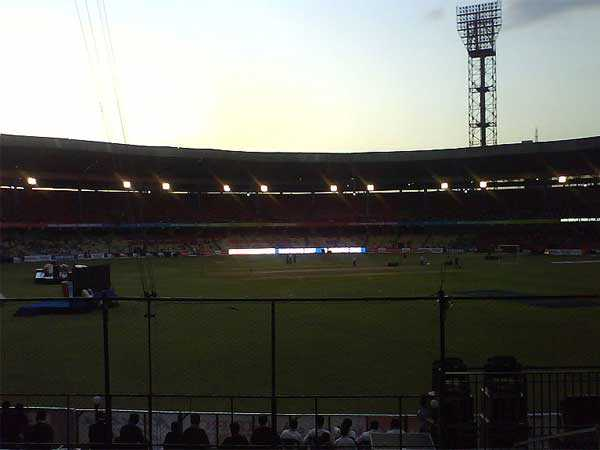 A file picture of M Chinnaswamy Stadium