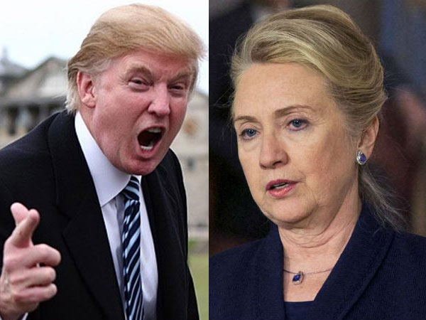 Clinton, Trump eye Northeast win