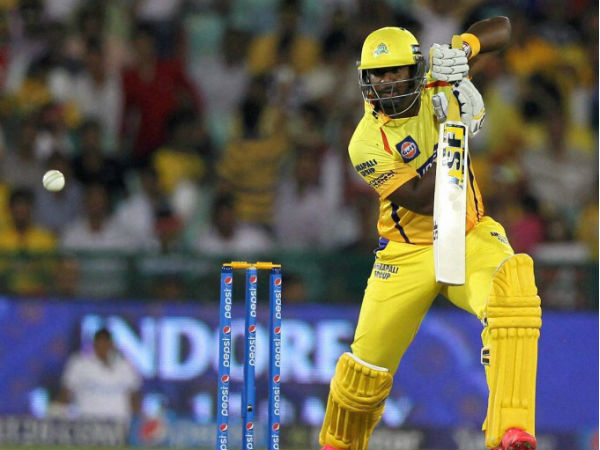 Dwayne Smith had last year played for CSK