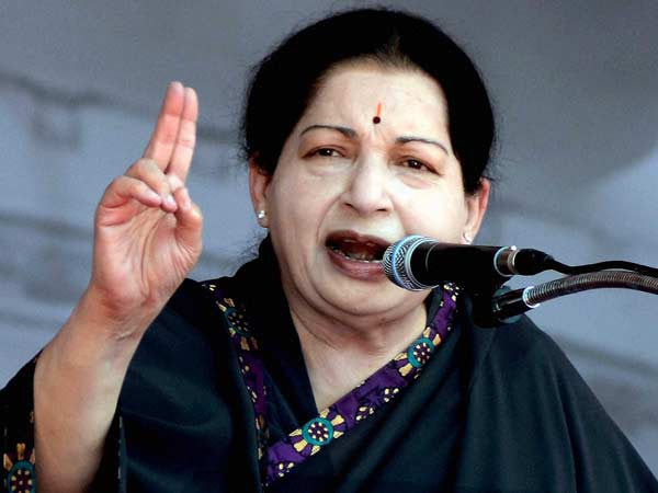 Jayalalithaa attacks DMK on law and order during its rule in Tamil Nadu