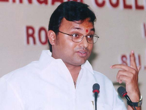 The drama is now over: Karti Chidambaram