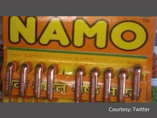 Today S Namo Pens With Bjp Symbol Create Controversy In Gujarat