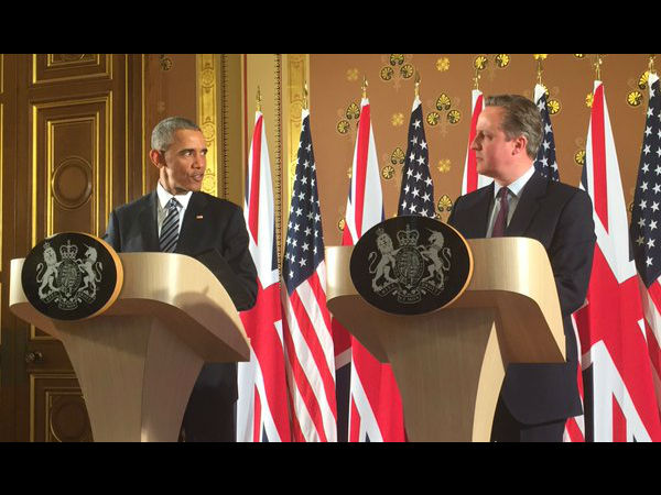 UK, US fighting ISIS together: David Cameron