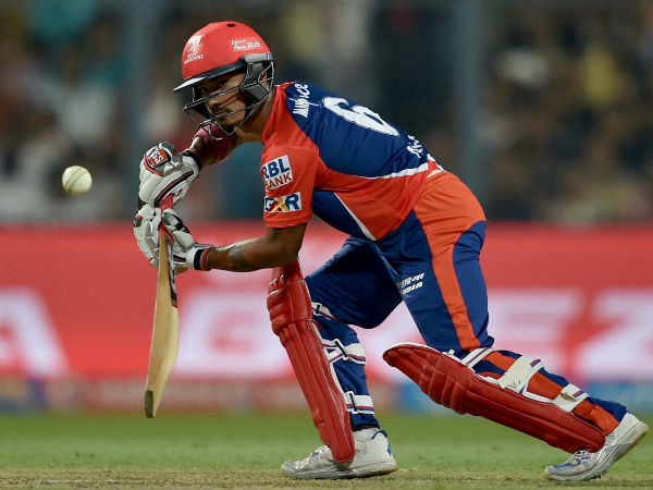 Delhi's Pawan Negi plays a shot during their IPL 2016 match against Kolkata. Negi was bought for Rs 8.5 crore