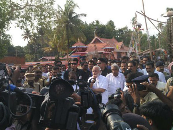 Govt of India stands with people of Kerala: PM Modi on Kollam