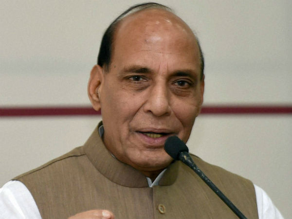 TMC courts controversy by posting morphed pic of Rajnath Singh