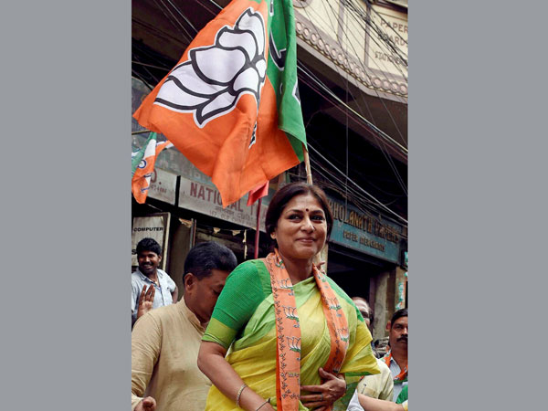 Bengal polls 2016: Come out of your home and vote, Roopa Ganguly asks voters