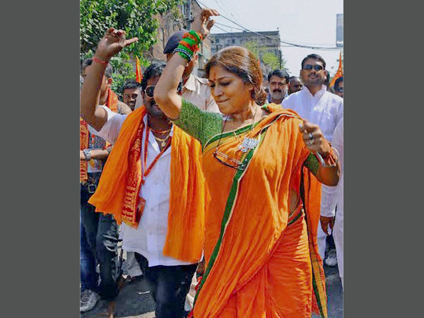 Roopa Ganguly alleges heckling by TMC