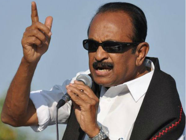 Tamil Nadu: Vaiko says he is firm on his decision to not contest polls