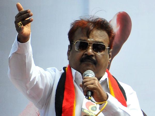 vijayakanth speech