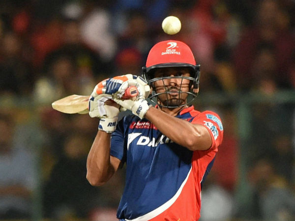 File photo: Karun Nair hit a half century for Delhi