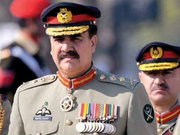 Pakistan Army chief targets India