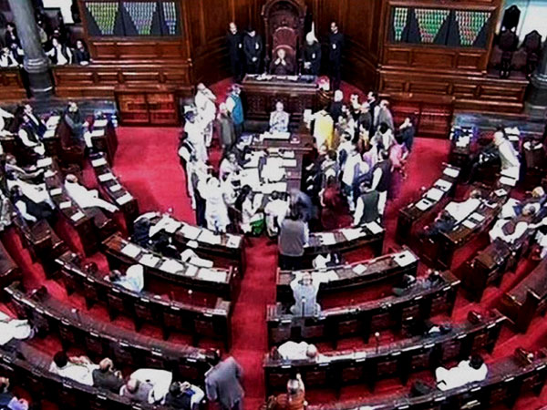 RS disrupted over Uttarakhand issue