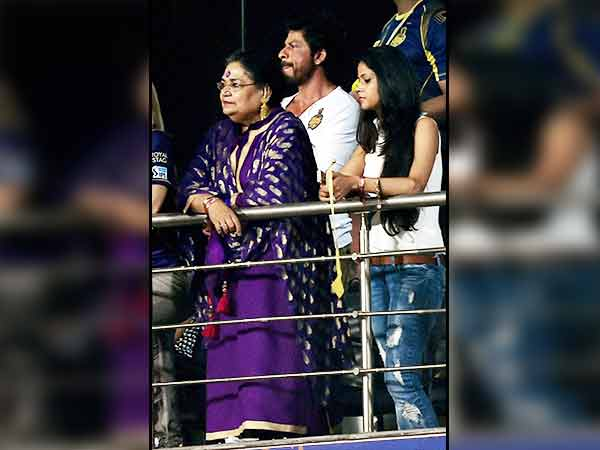 In pics: SRK and his cute son AbRam at IPL 2016