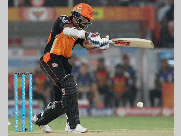 File photo: Shikhar Dhawan carried his bat to 47 not out