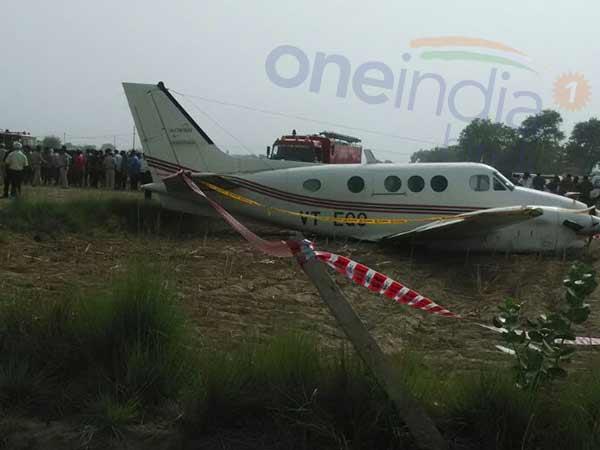 Air Ambulance Crash Lands In Delhi S Najafgarh No