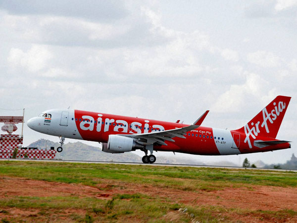 AirAsia flight makes emergency landing at Kolkata airport after threat call