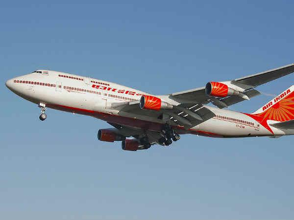 Now, patriotic slogan in Air India