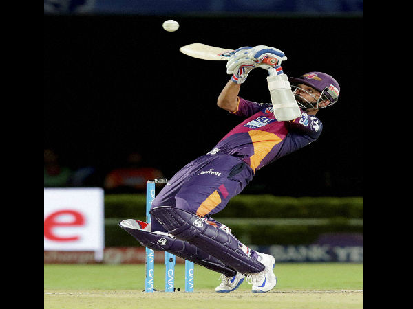 IPL 2016: Pune Supergiants beat Delhi Daredevils by 19 runs under D/L method