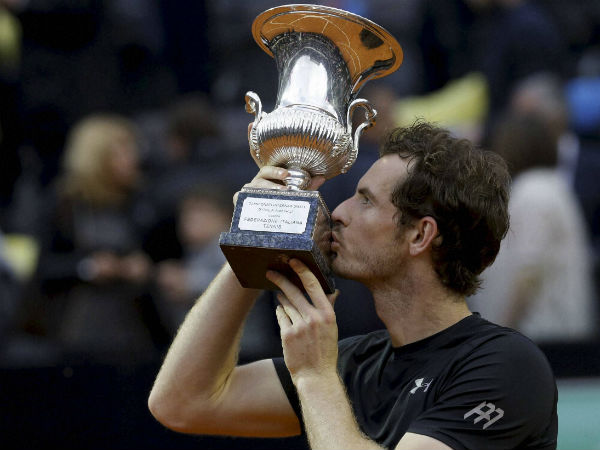 Andy Murray advances to second spot in ATP rankings