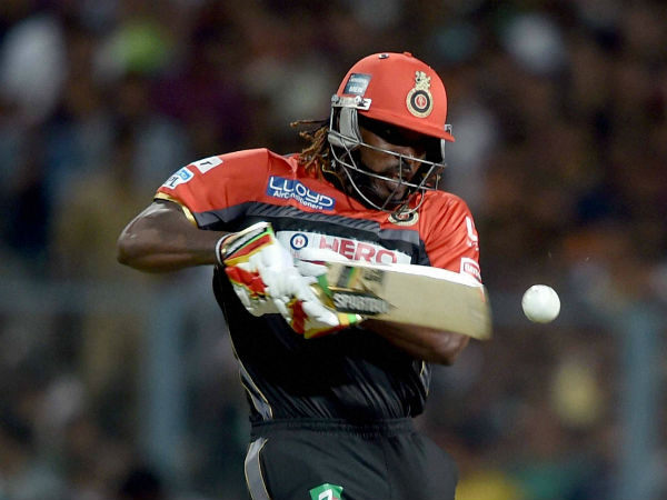 Chris Gayle reached his 50 off 26 balls