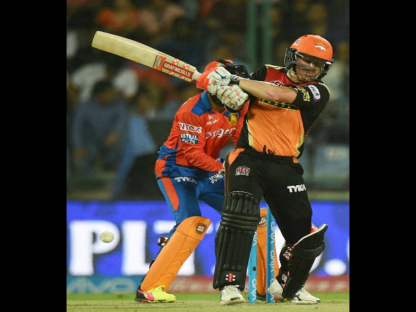 David Warner is SRH skipper