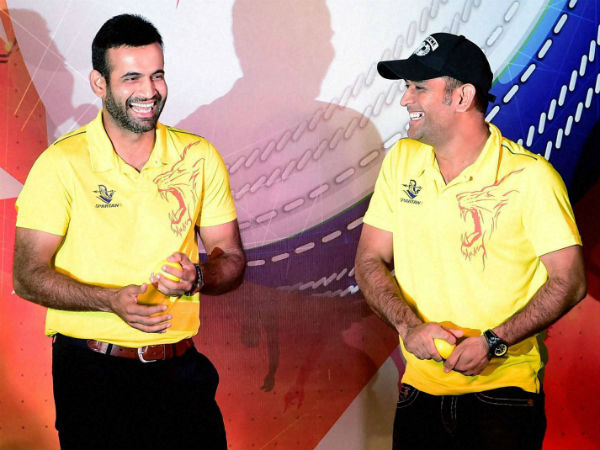 MS Dhoni hasn't treated Irfan Pathan well