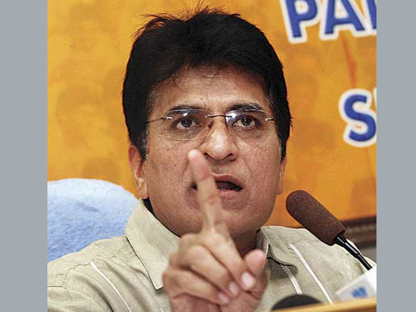 AgustaWestland: Somaiya urges Centre to confirm Scindia's claim on Sonia Gandhi