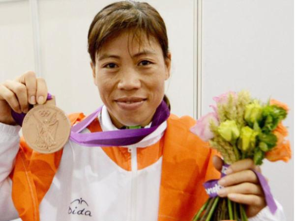 A file picture of Mary Kom