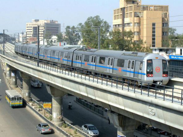 Woman walks on metro track in Noida an alleged bid to commit suicide