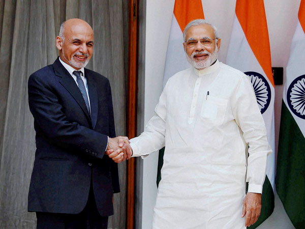 Modi greets Afghan Prez on his birthday