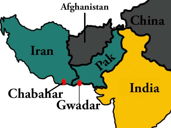 Chabahar port not a rival to Gwadar