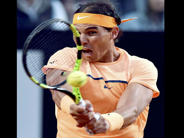 Rafael Nadal wins opening match in Rome Masters