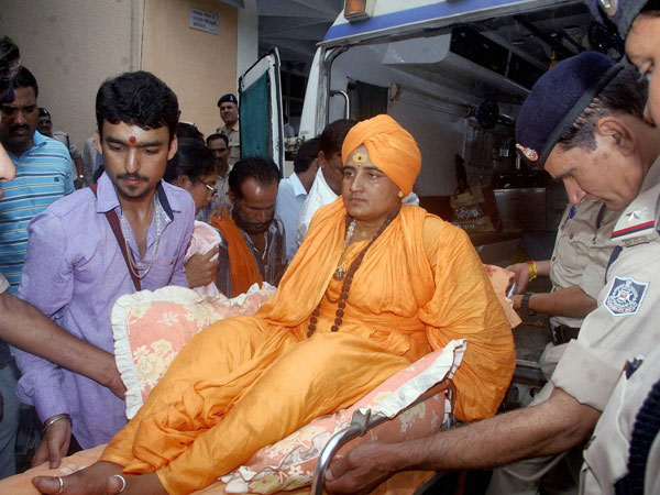 'I should've been acquitted; I've suffered a lot,' says Sadhvi Pragya after getting bail