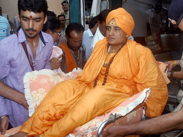 Charges against Sadhvi Pragya dropped