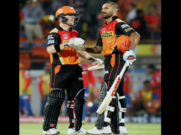 David Warner-Shikhar Dhawan
