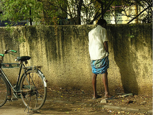 Now, penalty for urinating in open