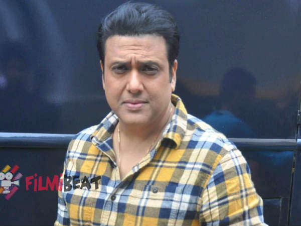 Bollywood actor Govinda