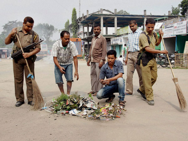 '52% citizens find their city cleaner after 600 days of Swachh Bharat mission'.