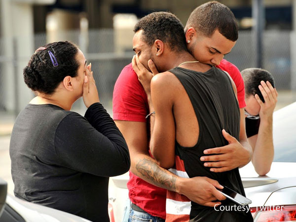 In pics: Shaken Orlando deals with attack
