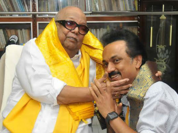 Stalin rejects reports of differences between him, Karunanidhi.