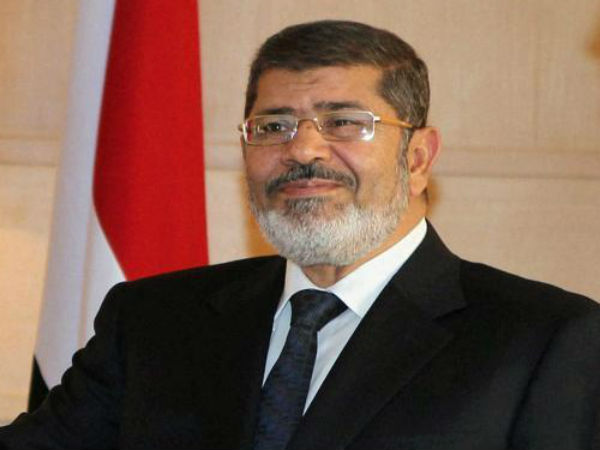 Ex-President Morsi sentenced to 40 yrs in jail by Egypt court.