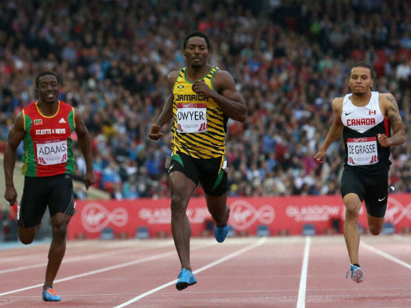 Canadian sprinter Andre de Grasse wins 100m at Oslo