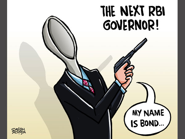 Cartoon of the Day: My Name is Bond, RBI Bond