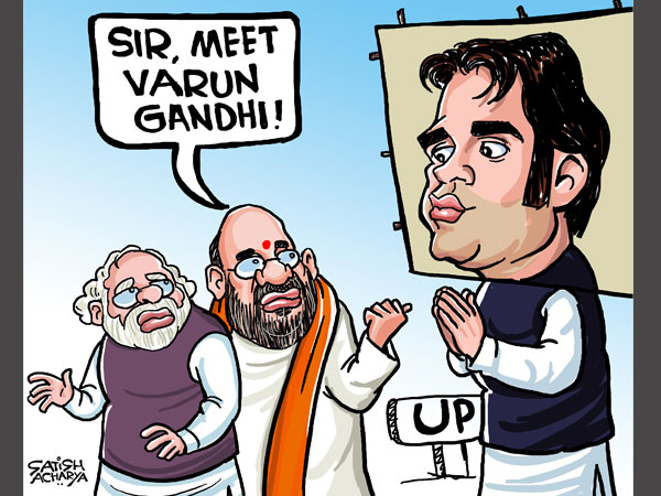 Varun Gandhi knows how to draw attention