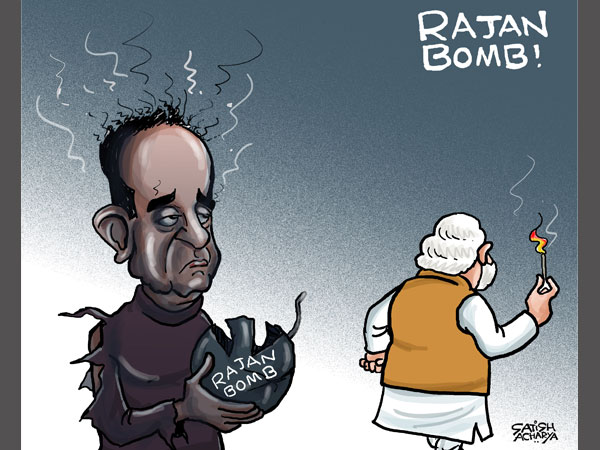 Modi chooses Rajan over Swamy