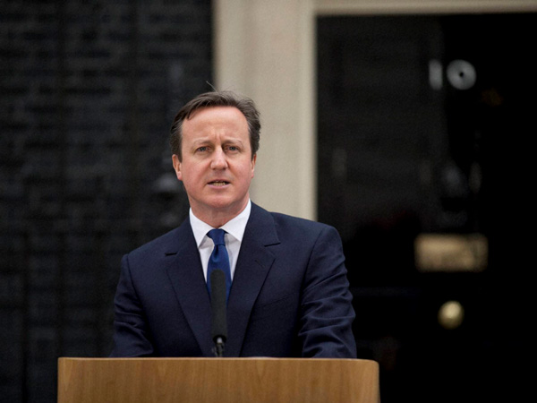 David Cameron to resign in 3 months