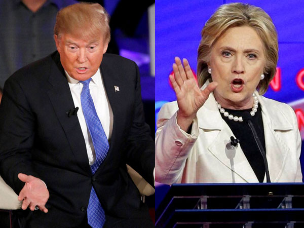 Clinton leads Trump by 6 points: Poll